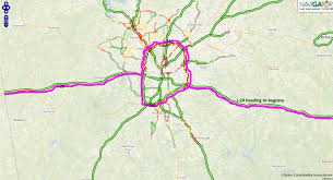 Map Of Midtown Atlanta by Traffic Detours How To Navigate Atlanta To Get To The Masters
