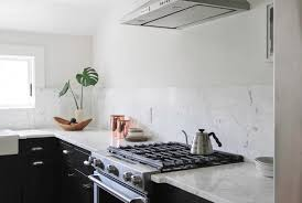 white kitchen no cabinets sleek new york kitchen makeover cliqstudios cabinets