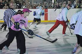 Floor Hockey Pictures by All Female Floor Hockey Team Battles Nhl Greats Article The