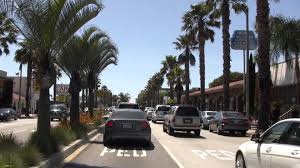new cars in santa monica wilshire blvd from rodeo drive to the ocean in santa monica hd