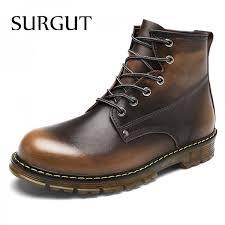 Warm Comfortable Boots Buy Men Boots Autumn Winter Warm Fur High Quality Split Leather