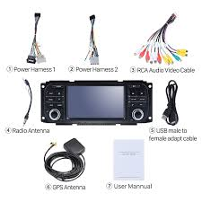 6 0 gps navigation radio for 2002 2006 chrysler pt cruiser with
