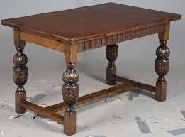 antique draw leaf table english oak draw leaf pub table