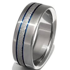 titanium wedding rings chagne sparkle titanium wedding ring f14 titanium