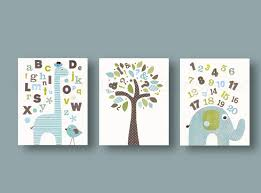 Alphabet Wall Decals For Nursery by