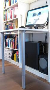 secret billy bureau from ikea hacks put a fold out desk inside a