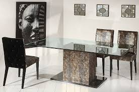 Dining Table Table Bases For Glass Tops On Bases For Glass Dining - Glass dining room table bases