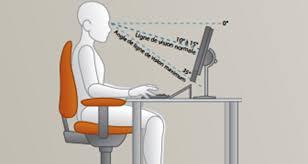 si e informatique ergonomique ergonomie la bonne posture devant pc plusieurs conseils ginjfo