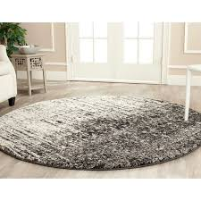 Black And White Rug Overstock Safavieh Retro Mid Century Modern Abstract Black Light Grey