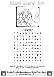 coloring pages summer worksheets for kids free worksheets for