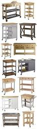 origami wooden butcher block kitchen cart design ideas and decor