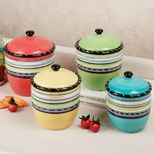 kitchen canister sets ceramics gallery including decorative