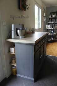 relooker une table de cuisine déco récup un bahut relooké devenu plan de travail cadeaux inside