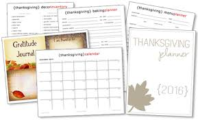 thanksgiving planner your way