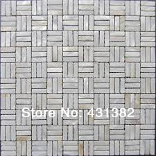 aliexpress com buy white mother pearl subway shell mosaic