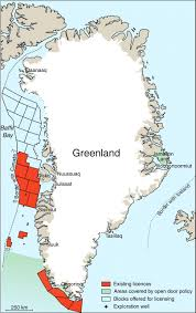 Greenland Map Chapter 42 Greenland Petroleum Exploration History Breakthroughs