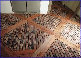 faux brick tile pertaining to brick tile flooring
