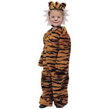 childs halloween costumes amazon com toddler tiger costume size toddler 2t 4t clothing