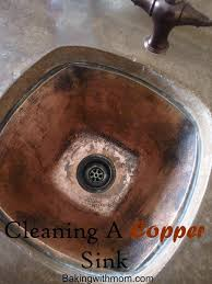 How To Clean Kitchen Sink by How To Clean A Copper Sink Sinks Cleaning And Cleaning Solutions