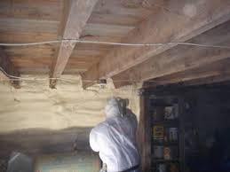 foundation wall insulation closed cell spray foam rook energy