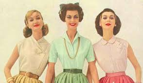 1950s tops and blouse styles