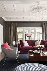 burgundy living room design home ideas pictures homecolors