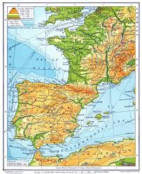 San Sebastian Spain Map by France Spain Map Imsa Kolese