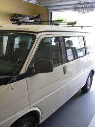 volkswagen eurovan camper cascade rack volkswagen eurovan westfalia camper custom base