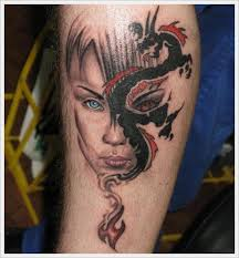 10 best female dragon tattoos images on pinterest angel