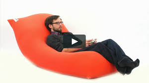 yogi max bean bag chair recliner sofa u0026 bed in 1 on vimeo