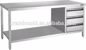 Stainless Kitchen Work Table by Stainless Steel 3 Layer Work Table Stainless Steel 3 Layer Work