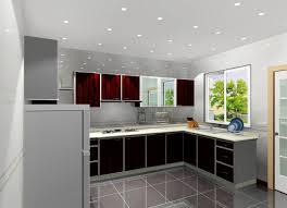 kitchen modern home interior kitchen with grey acrylic kitchen
