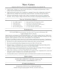 paralegal resume template paralegal resume template sle assistant objectives