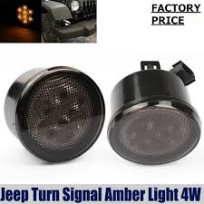 turn signal light assembly aliexpress com buy front fender smoked lens led turn signal light