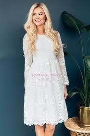 white lace dress beautiful white lace modest dress modest dress for nursing