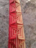 pleated ribbon pleat ruth singer