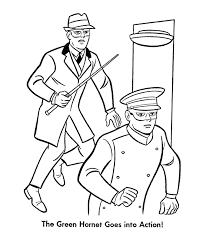 green coloring page green hornet and kato coloring pages green hornet and kato go