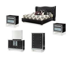 6 pc swank starry california king bedroom set