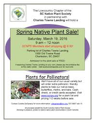 ga native plant society lowcountry south carolina native plant society