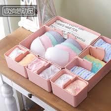 underwear organizer creative diy drawer organizer socks bra underwear organizer box