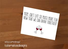 19 s day cards no jokes wine etsy and