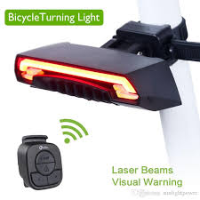 best usb rechargeable rear bike light meilan x5 smart bicycle rear light wireless remote turning control