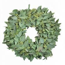fresh wreaths seeded eucalyptus wreaths