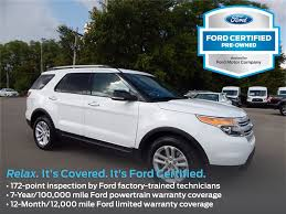 Ford Explorer Mpg - certified pre owned vehicles fords muncie wetzel ford