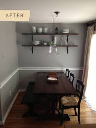 Diy Dining Room by Before U0026 After A Beautiful Dining Room On A Budget U2013 Design Sponge