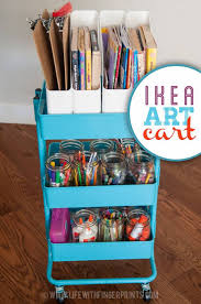 ikea craft cart 30 fun and unique ways to use an ikea raskog