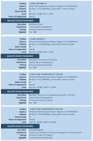 sle resume for chief administrative officer 100 images