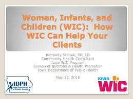 rd bureau infants and children wic how wic can help your clients