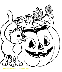 coloring pages printable for halloween printable halloween coloring pages with ribsvigyapan com printable