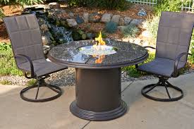 Tuscan Style Patio Furniture Fire Pits Design Magnificent Gas Fire Pit Table Patio Set Wicker